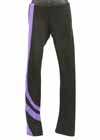 Consignment ChloeNoel P26 Spiral Pant Black Purple Child L