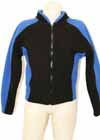 Black Jacket Blue Accents Adult M
